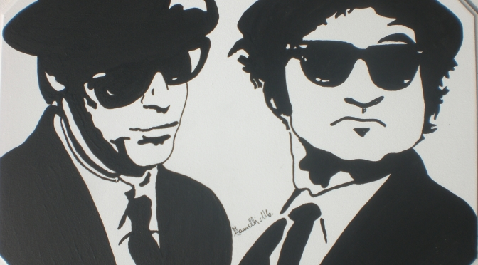 QUADRO POP ART BLUES BROTHERS