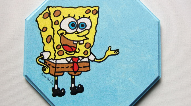 Tutti i quadri su Spongebob
