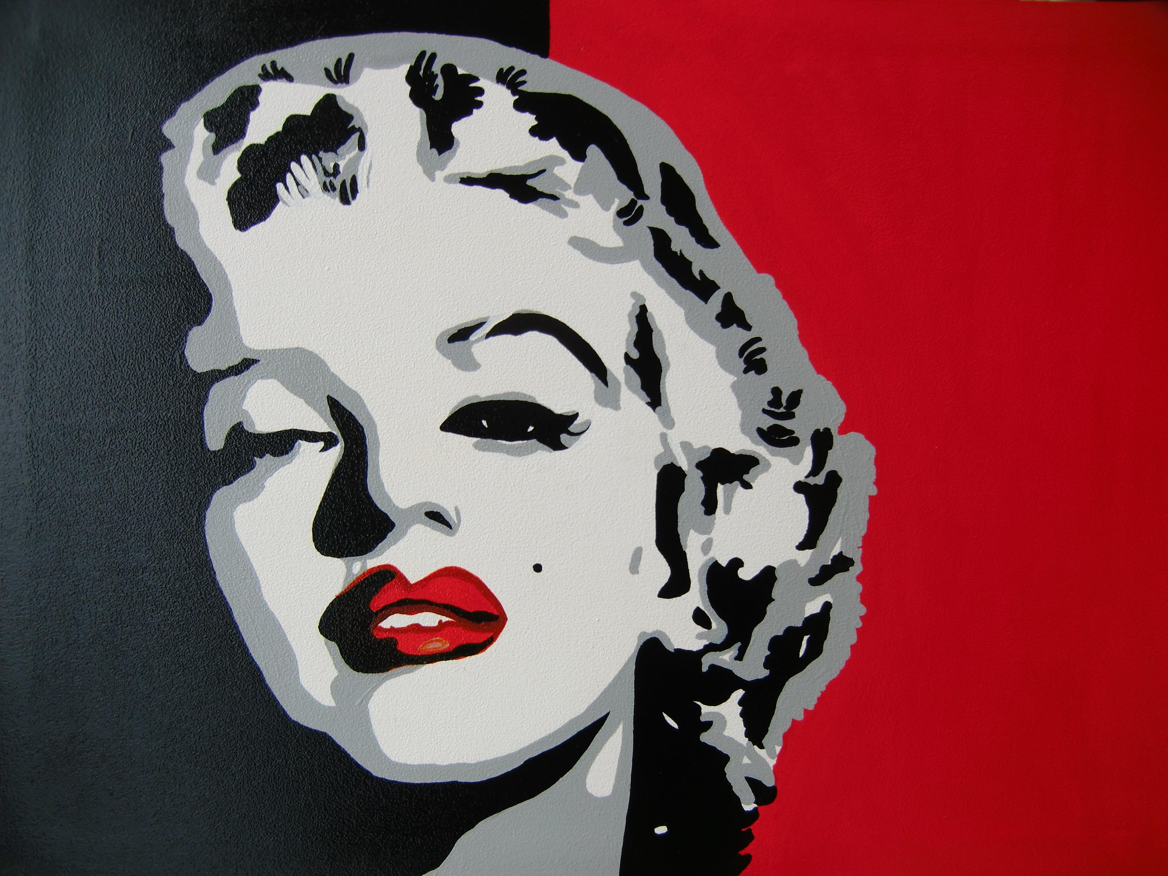 Quadro Pop art Marilyn Monroe - Iannelli Manuela - Iannelli Manuela
