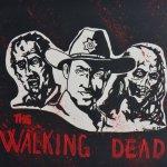The walking dead pop art