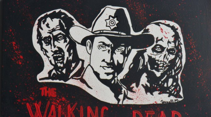 THE WALKING DEAD POP ART
