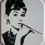 Audrey Hepurn pop art